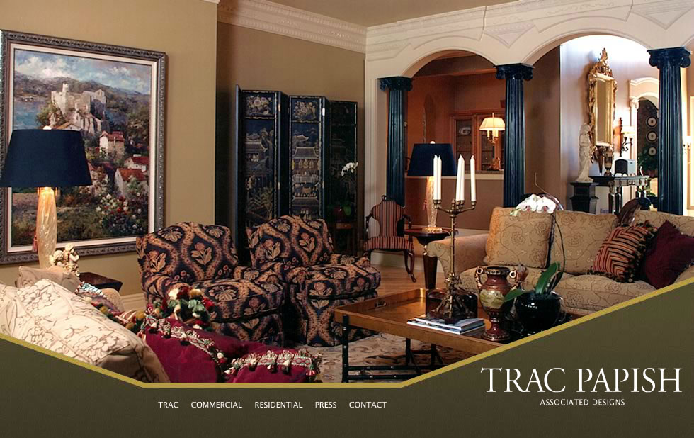 Trac Papish   Associated Design   Welcome